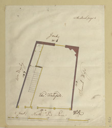 [Plan of property in Lad Lane] 170-F